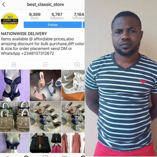 EFCC Nabs Fake Instagram And Whatsapp Operator 'Kemisola' (Photos)