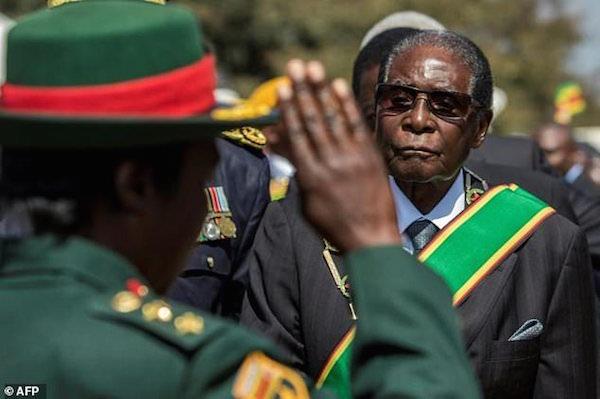 Zimbabwe  Declares Mugabes's Birthday A National Holiday