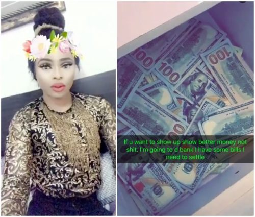 Bobrisky Shows Off Mystery Man  Who Gave Him 1million For His Birthday , 'N12m' Interior Of His Lekki Home (Photos)