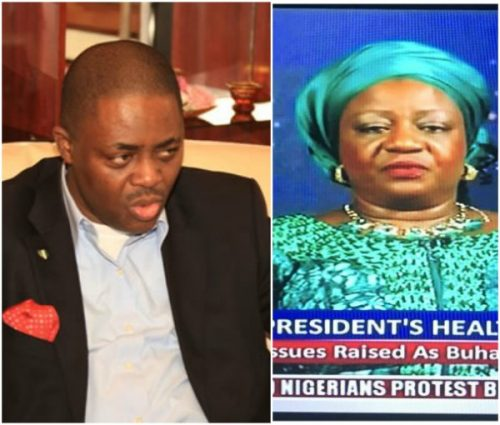 """You Need A Comprehensive Face-lift And Brain Transfer ""- Femi Fans Kayode Tells Lauretta Onochie Over Her Comments On President's Health"