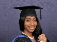 Pretty Nigerian Lady Hauwa Umar Usman, Bags First Class in Aeronautical Engineering From UK University