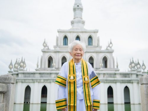 'Its Never Too Late To Learn' -91-year-old Says As She Bags  Bachelor's degree