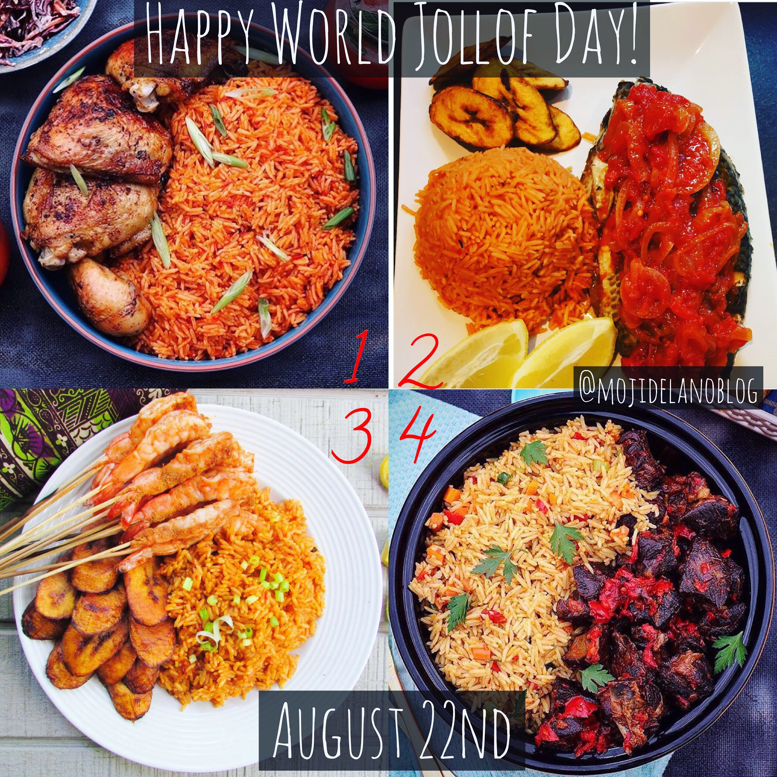 Happy World Jollof Rice Day!