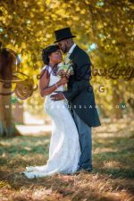 Actress Funke Akindele Bello And Her Husband  JJC Skillz Celebrate 1st Wedding Anniversary, Share Wedding Photos For The First Time