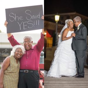 Ageless Love! 70 Year Old Man And 67 Year Old Woman Whose Engagement Photos Went Viral Are Married (Photos)