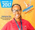 Nigerian Schoolgirl, Katherine Eta, Wins Bronze At Microsoft Office Specialist World  Championship