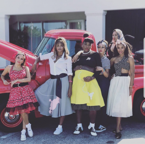 Photos From Serena Williams 50's Themed Baby Shower