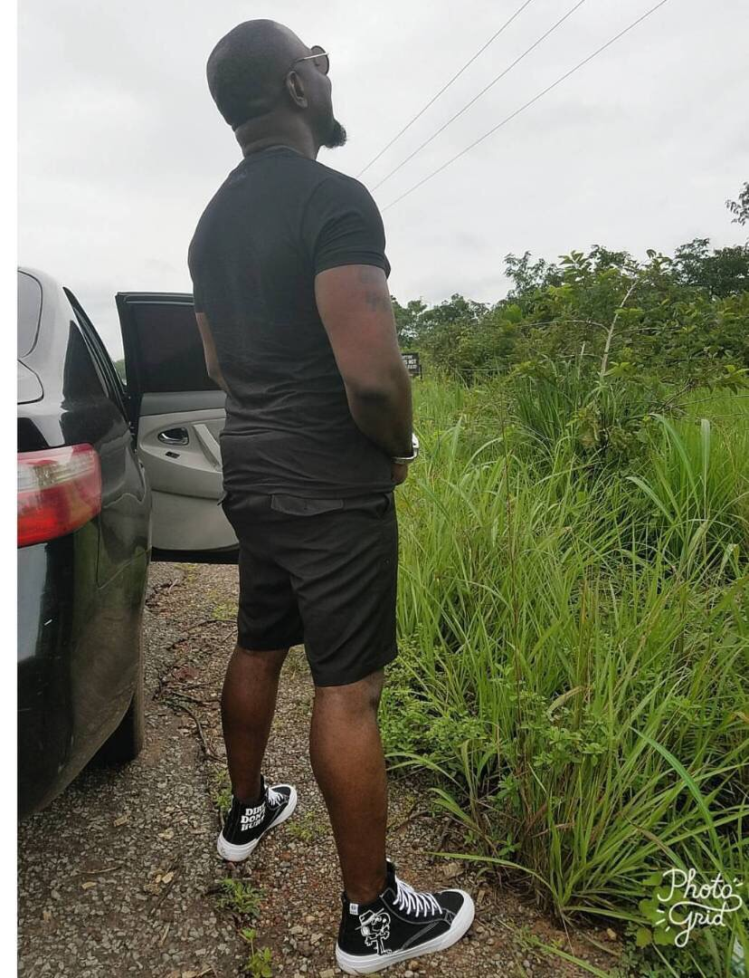 """You're A Disillusioned Social Media Idiot""""- Jim Iyke Claps Back At Fan Who Called Him 'fool' For Peeing By Road Side"""