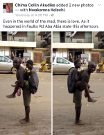 Love Is Love: Viral Photos Of Mentally Challenged Man Backing His Lover