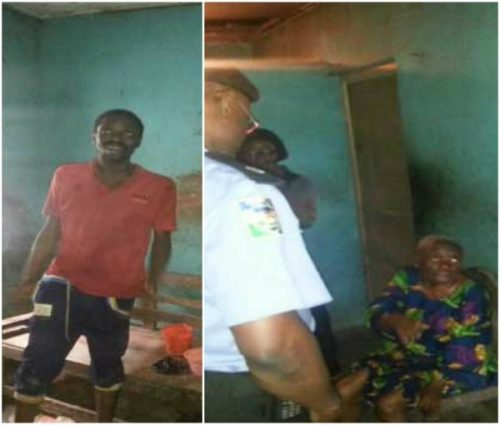 Police Rescue Young Man Kept In Chains By  Grandmother For  One Year In Lagos (Photos)