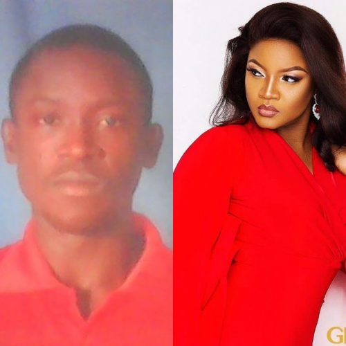 Drama As Nigerian Man Lays Curses On Actress Omotola For Refusing To Marry Him