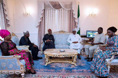 President Buhari Hosts His Media Team Today In London