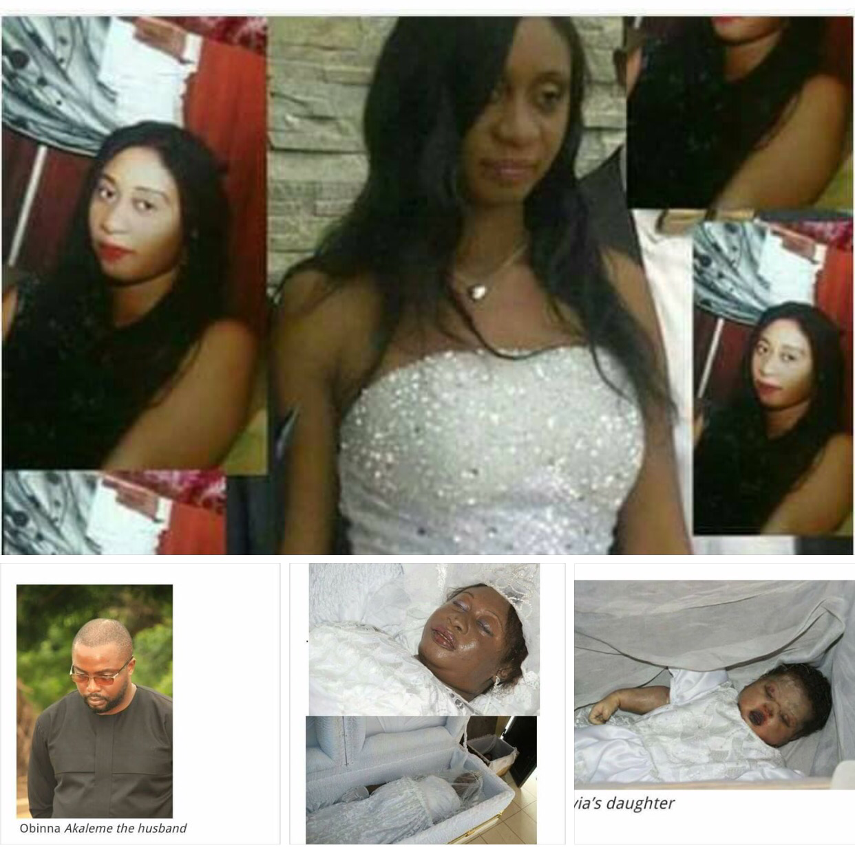 Heart Breaking Story Of Nigerian Woman  Allegedly Beaten To Death By Husband, Buried With Her Baby ( Viewer Discretion)