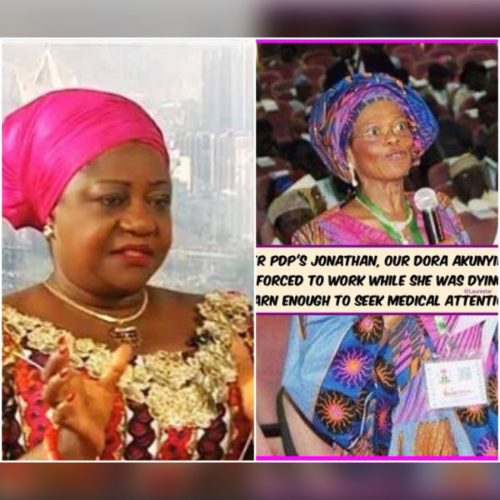 Under Jonathan, Dora Akunyili Was Forced To Work While  Dying'- Presidential Aide  Lauretta Onochie