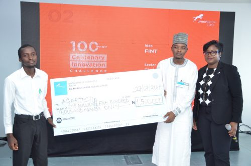 Winners Emerge In Union Bank's Centenary Innovation Challenge