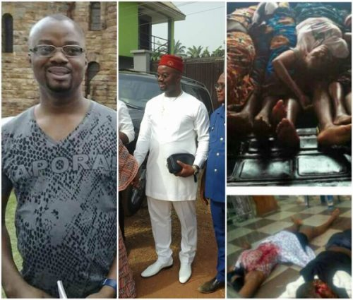 Photos Of Man Gunmen Allegedly came For In Ozubulu Anambra Church Attack