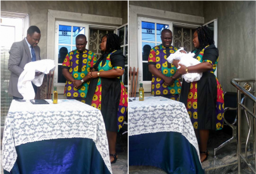 Only God Could Have Done This! Woman Whose Womb Was Removed To Save Her Life Gives Birth To Baby Boy