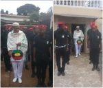 BIAFRA: Viral Video Of Nnamdi Kanu Inspecting Biafra Secret Service (BSS)