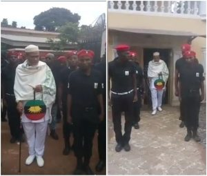 Buhari Orders Service Chiefs To Tackle Biafra's Secret Police