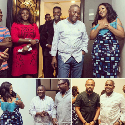 Omotola Jalade Hosts Dangote, Otedola, Donald Duke, Others To A Private Viewing Of Her New Movie (Photos)