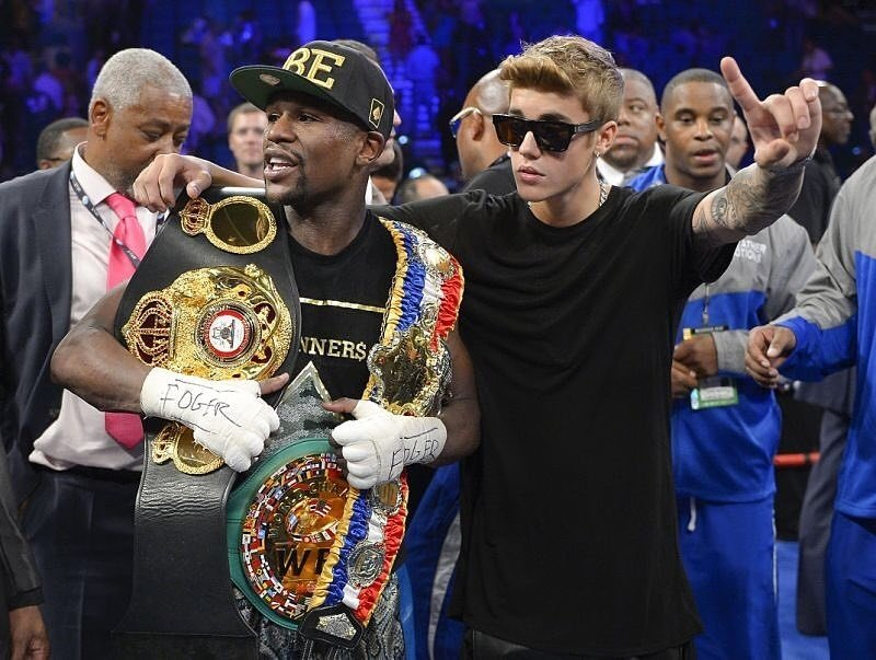​Mayweather Upset With Justin Bieber For Unfollowing Him On Instagram To Avoid His Negative Influences