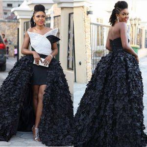 Must See Look: Omoni Oboli Shines In Black And White