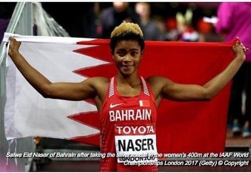I'm Glad I Dumped Nigeria For Bahrain, Athlete Salwa Naser After Winning Medal At 2017 IAAF World Championships In London