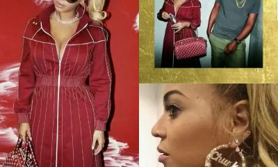 Beyonce attends Bruno Mars concert in Valentino