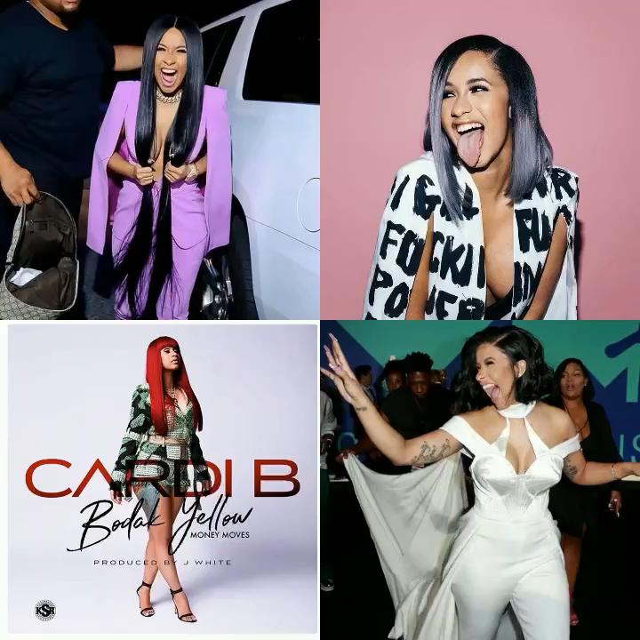 Cardi B History