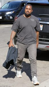 Kanye West Put On Extra Pounds As He Recovers From Mental Health Crisis