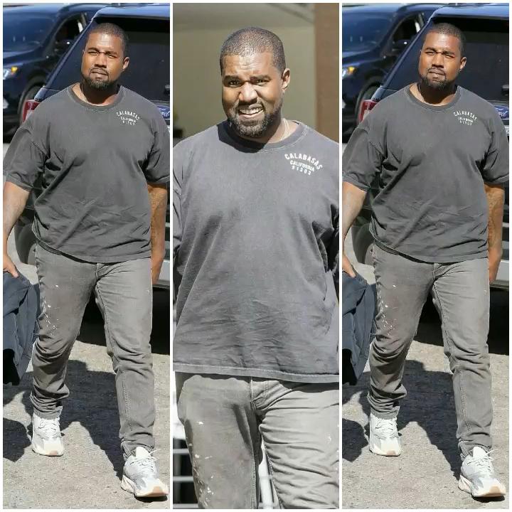 Kanye West Gains Extra Pounds