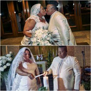 Lesbian Pastors Twanna Gause and Vanessa Brown wed