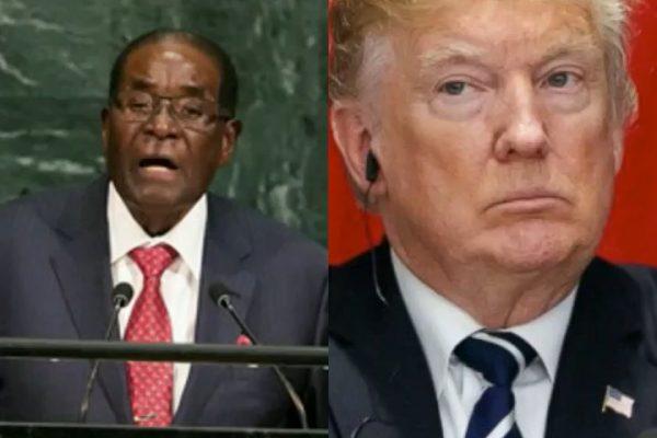 MUGABE At UN Mocks 'Giant Goliath' Trump