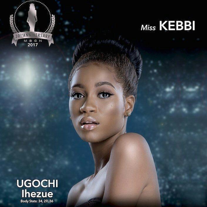 Miss Nigeria 2017 Ugochi Ihezue