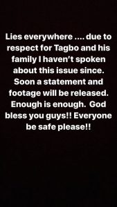 """""""Lies Everywhere!"""" Davido Rants As He Reacts To News He Lied About Tagbo's Death"""