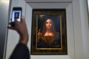 """Da Vinci Portrait Of Jesus Christ """"Salvator Mundi"""" To Fetch $100 Million"""