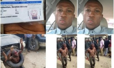 uber driver killed close to his home in Lagos