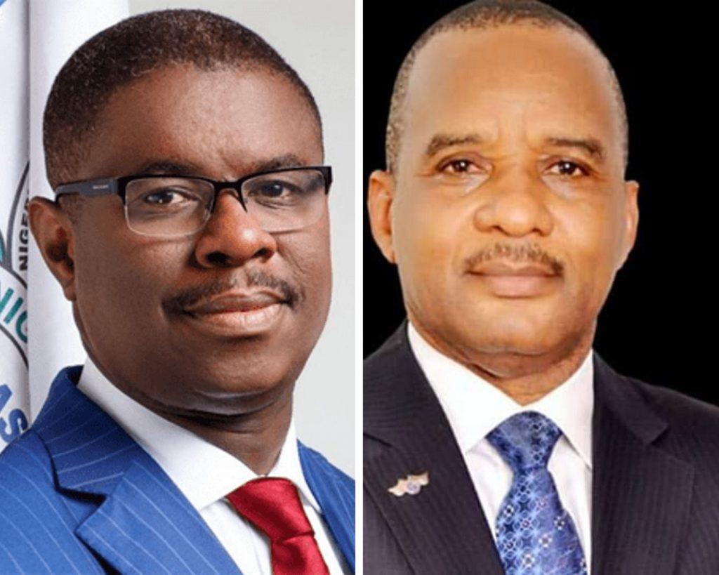L-R: Dakuku Peterside and Jamoh Bashir