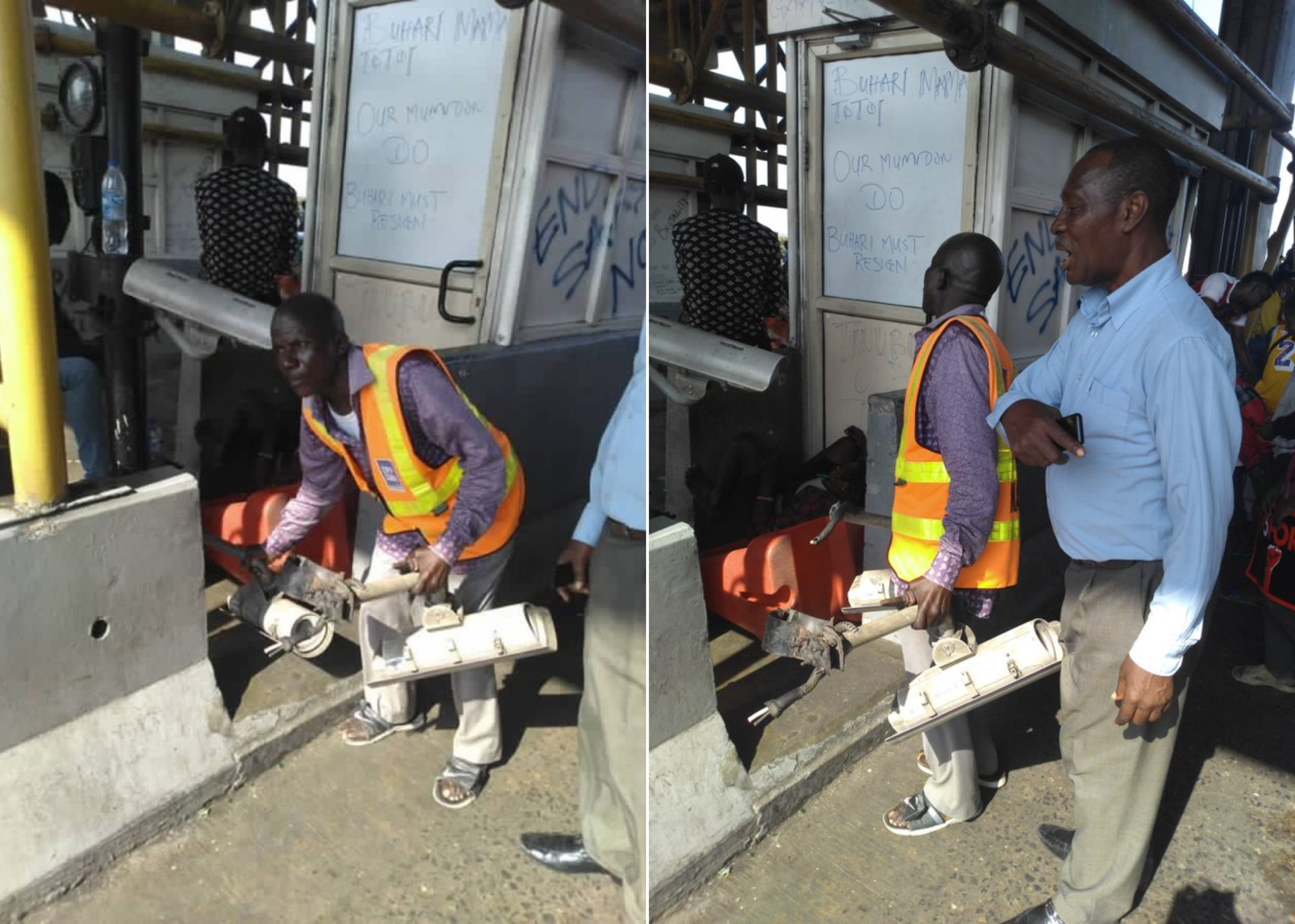 Lekki Massacre: Lekki Concession Company Denies Removing CCTVs At Tollgate