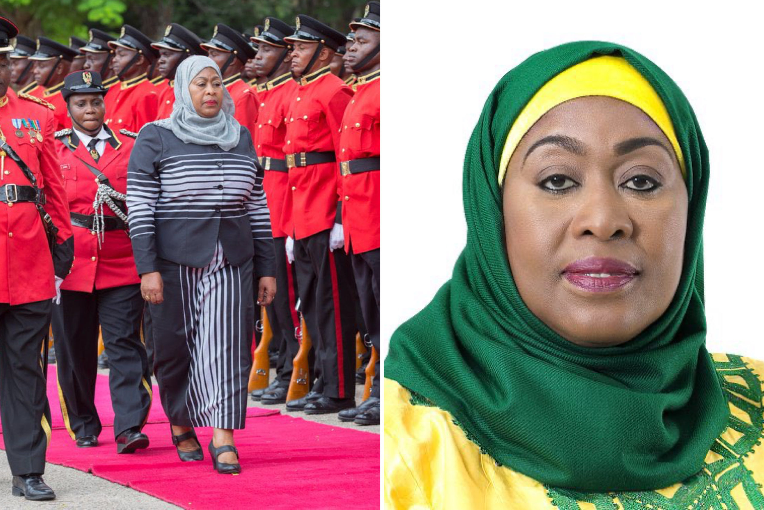 Tanzania's Vice President, Samia Suluhu Hassan Sworn In As Country's First Female President - MojiDelano.Com