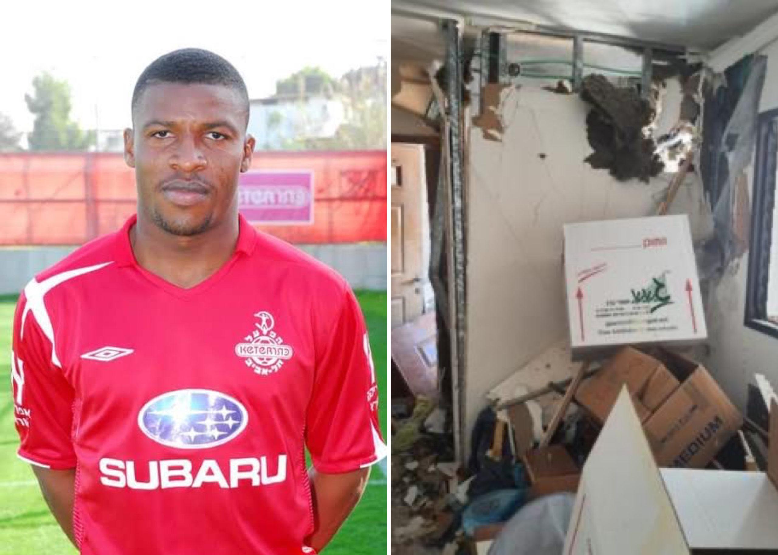 Gaza Crisis: Ex-Nigeria U-23 Star, Ibezito Ogbonna Recounts How He Survived  Rocket Attack On Home In Israel - MojiDelano.Com